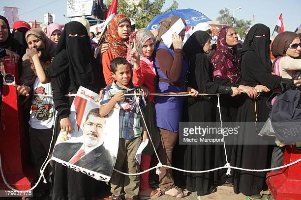 CONTENT] Egypt Cairo 9/8/2013 The two main Brotherhood sitins continue to block the Rabaa AlAdaweya cross point in Nasr City and AlNahda Square in...