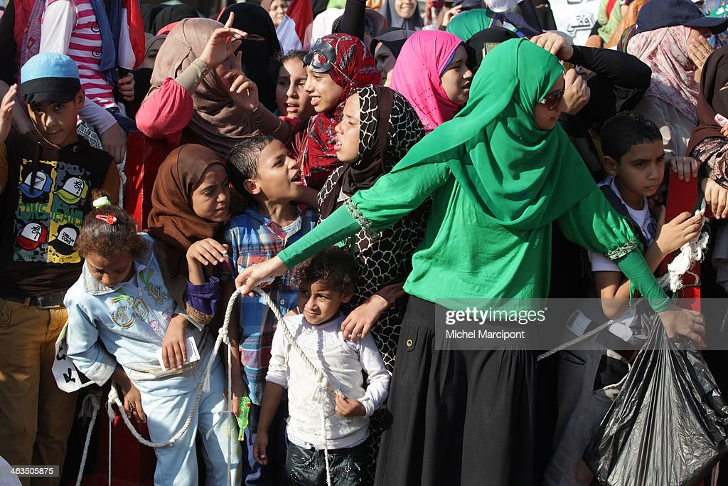 Egypt - Cairo - Rabaa El-Adaweya Square : News Photo