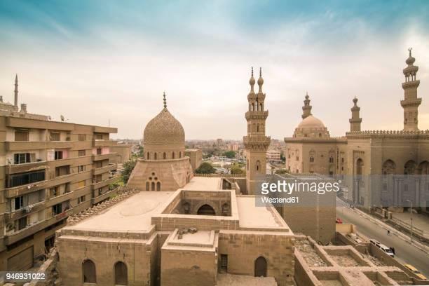 Egypt, Cairo, Al Mahmoudeya Mosque, Al Rifai Mosque, Sultan Hassan Mosque, The Citadel