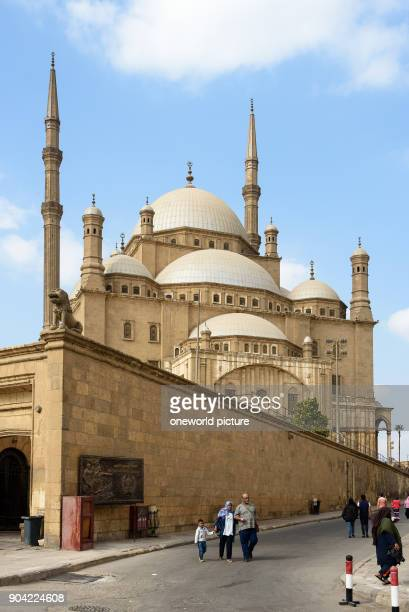 Egypt Cairo Governorate Cairo The citadel with the alabaster mosque