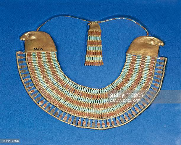 Egypt Cairo Necklace that belonged to Princess Neferuptah twelfth dynasty