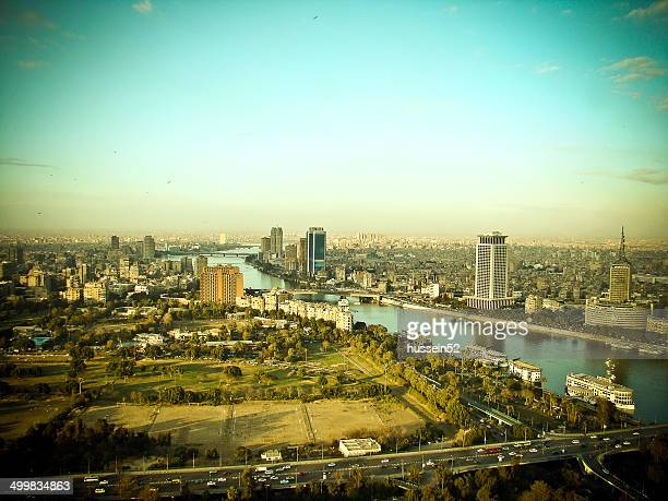 egypt cairo nile - hussein52 stock photos and pictures