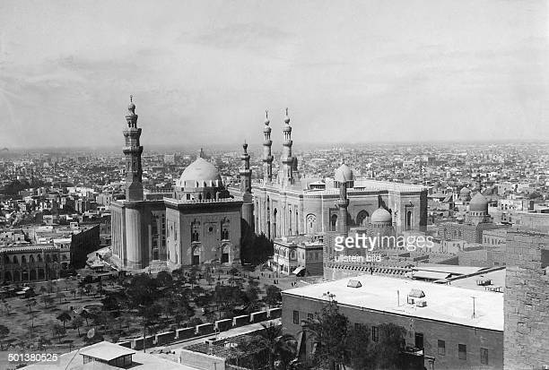 Sultan Hassan Mosque and El Rifai Mosque built in 1912 after 1912