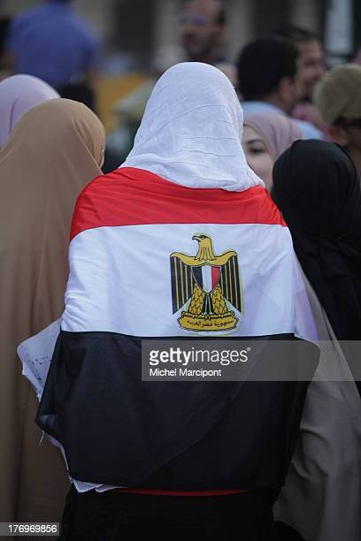 Egypt - Cairo - Tahrir Square, thousands Egyptian people in Tahrir square demand for revolution justice after Hosni Moubarak verdict.
