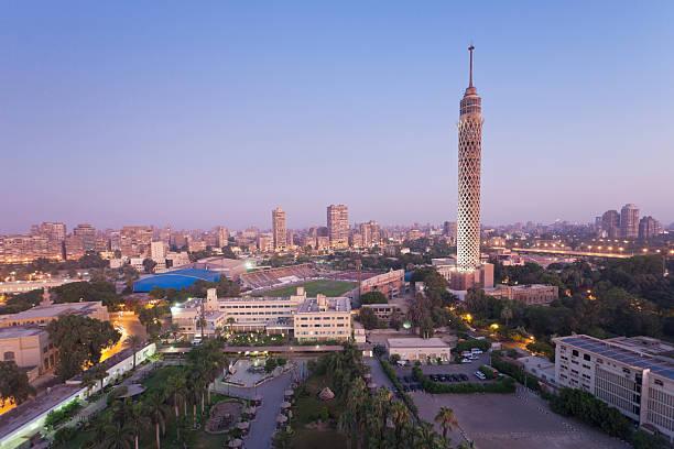 Egypt, Cairo, View Of City Wall Art
