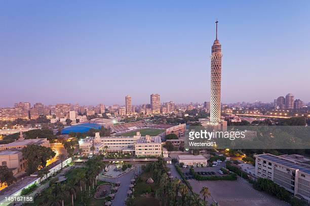 egypt, cairo, view of city - kairo stock-fotos und bilder