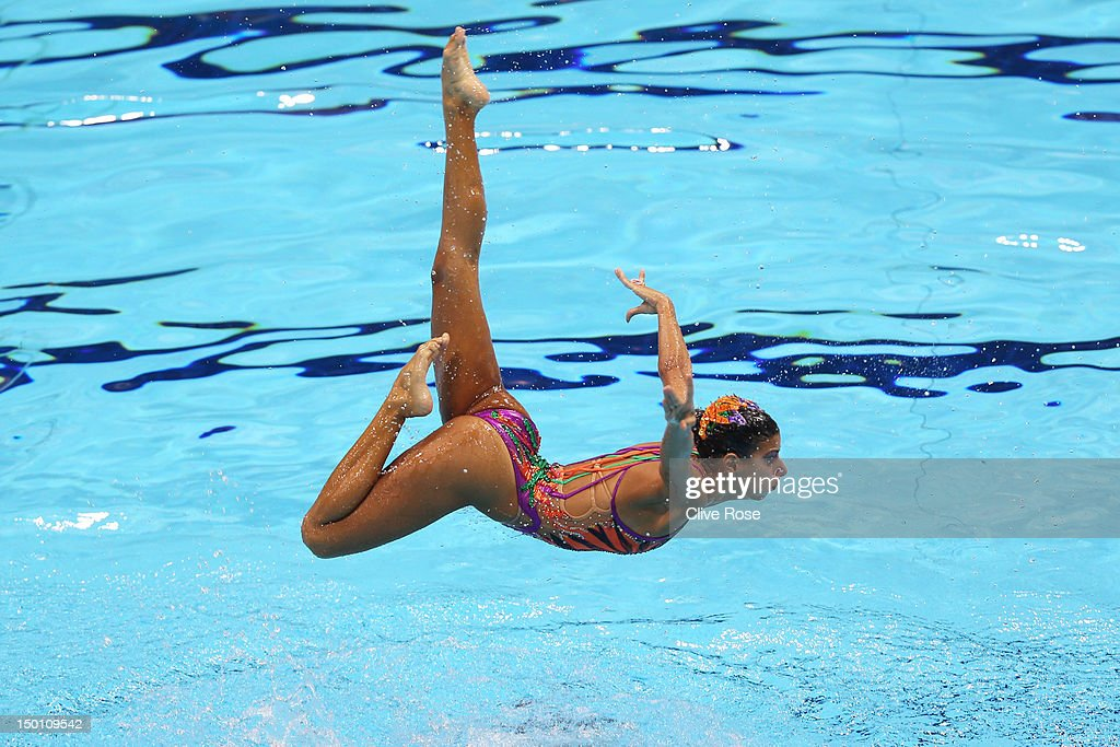 Olympics Day 14 - Synchronised Swimming : News Photo
