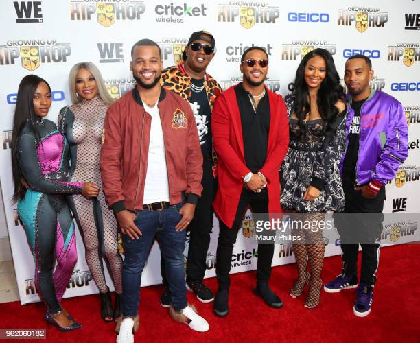 Egypt Criss Sandy Pepa Denton Damon Boogie Dash Master P Romeo Miller Vanessa and Joseph JoJo Simmons attend WEtv and The Cast of Growing Up Hip Hop...