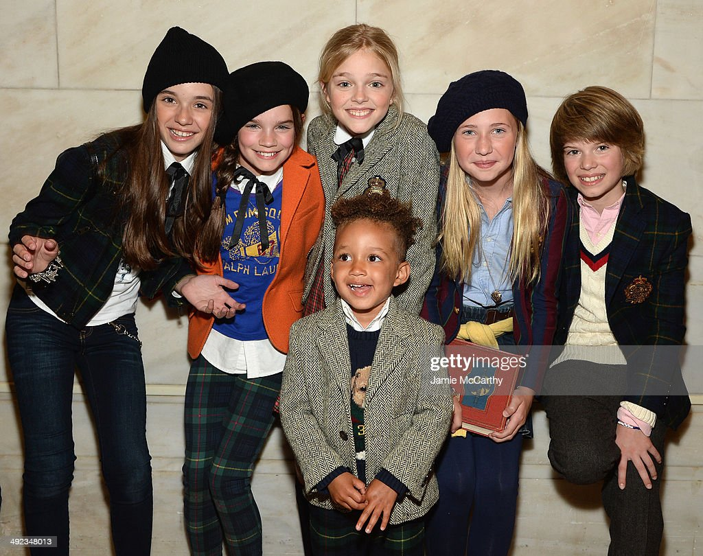 Ralph Lauren Fall 14 Children's Fashion Show In Support Of Literacy