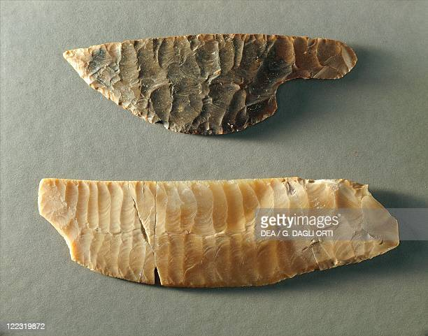 Egypt Flint knives from the Delta predynastic period