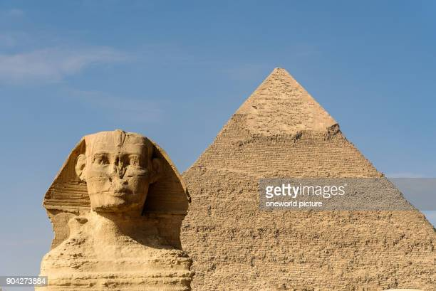 Egypt Giza Gouvernement Giza The Pyramids of Giza are UNESCO World Heritage sites