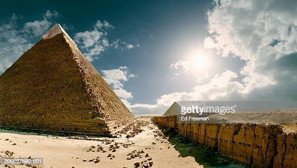 Egypt, Giza, Pyramid of Khafre (Digital Enhancement)