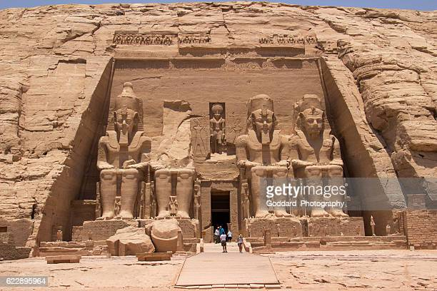 Egypt: Great Temple of Rameses II at Abu Simbel