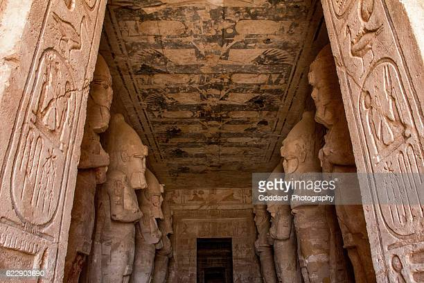 Egypt: Great Temple of Rameses II at Abu Simbel