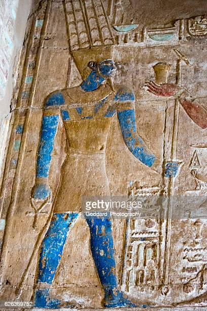 egypt: karnak temple complex - temples of karnak stock pictures, royalty-free photos & images