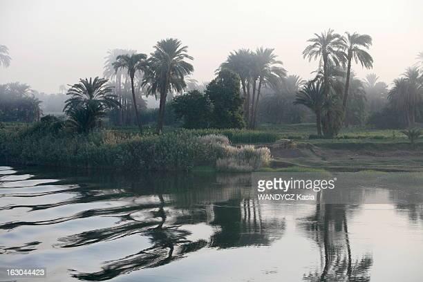 Luxury Cruise On The Nile Croisière sur le Nil à bord de l''Oberoi Zahra' un luxueux navire qui remonte le fleuve de Louxor à Assouan en suivant un...