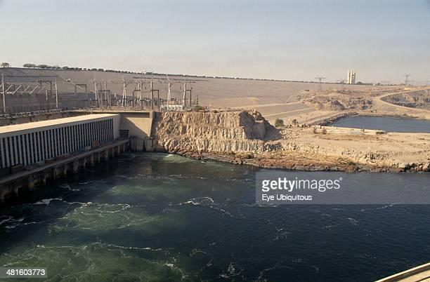 Egypt Nile Valley Aswan The Aswan High Dam