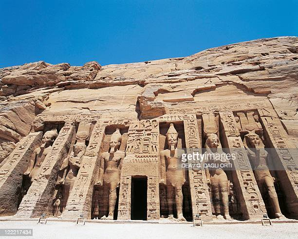 Egypt Nubia Abu Simbel Temple of Hathor