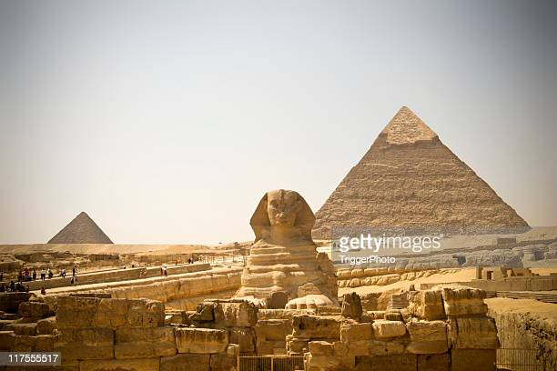 egypt pyramids - the sphinx stock pictures, royalty-free photos & images