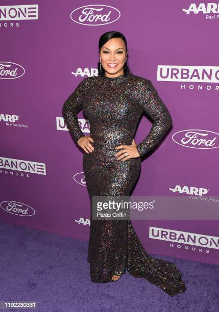 Egypt Sherrod attends 2019 Urban One Honors at MGM National Harbor on December 05 2019 in Oxon Hill Maryland