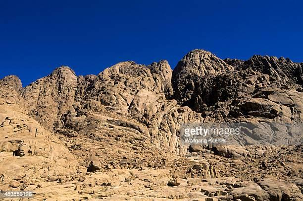 Egypt Sinai Peninsula Near St Catherine's Monastery Mountains