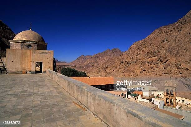 Egypt Sinai Peninsula St Catherine's Monastery Founded In 342 Ad