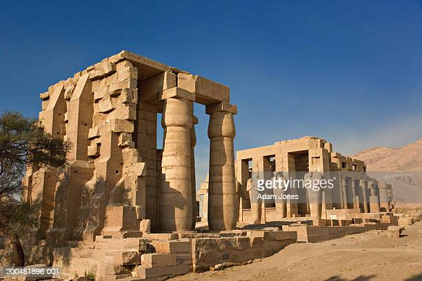 Egypt, Thebes, Luxor, Ramesseum Temple, Hypostyle Hall