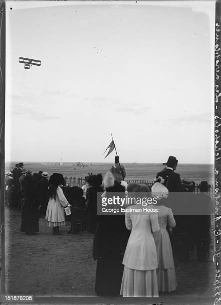 Egypte Aviation a Heliopolis-Les aeroplanes, February 1910.