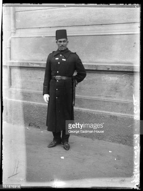 Egypte police, between 1900 and 1919.