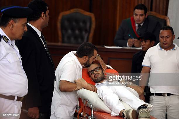 Egyptian activist Mohammed Soltan stages hunger strike for 263 days meets with his father well known Muslim Brotherhood official Salah Soltan on...