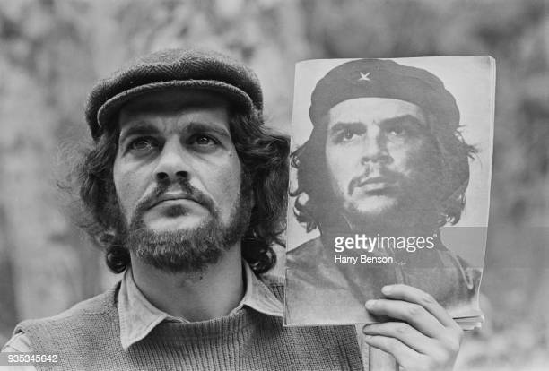 Egyptian actor Omar Sharif as 'Che Guevara' on the set of American biographical drama film 'Che!', 11th October 1968.