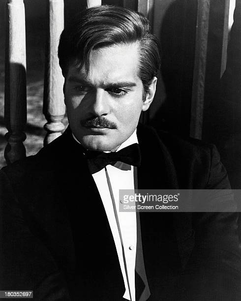 Egyptian actor Omar Sharif as Doctor Yuri Zhivago in a promotional portrait for 'Doctor Zhivago' directed by David Lean 1965