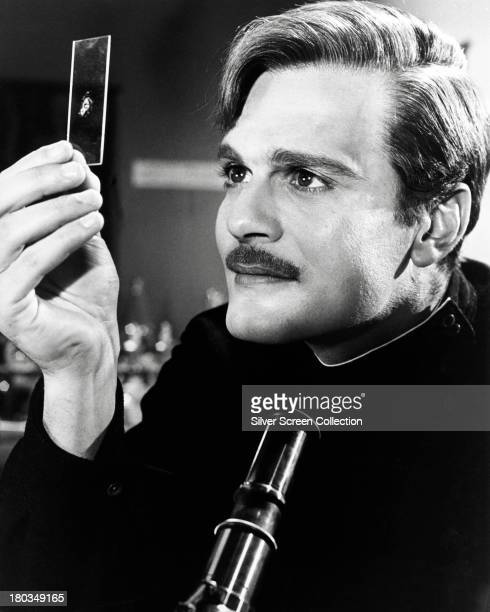 Egyptian actor Omar Sharif as Doctor Yuri Zhivago in 'Doctor Zhivago' directed by David Lean 1965
