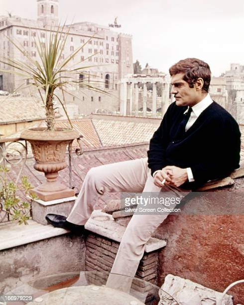 Egyptian actor Omar Sharif as Federico Fendi in a publicity still for 'The Appointment' directed by Sidney Lumet 1969