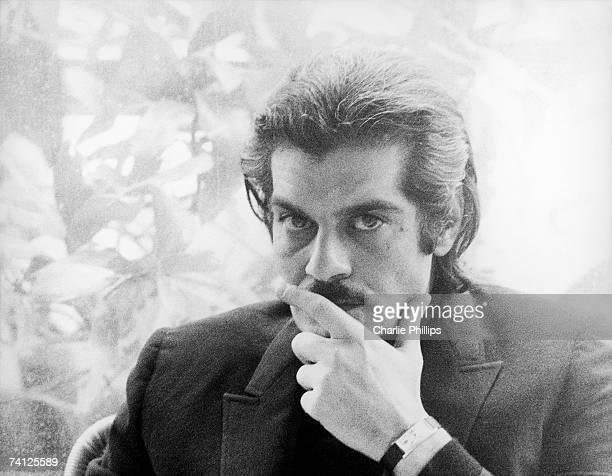 Egyptian actor Omar Sharif in the Via Veneto Rome 1970