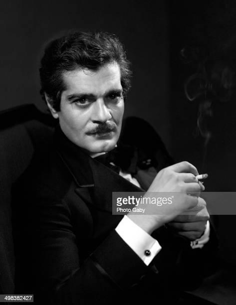 Egyptian actor Omar Sharif Montreal Canada 1968