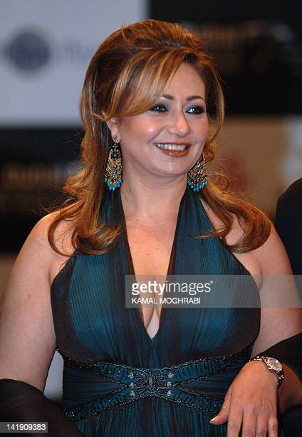 Egyptian actress Leila Elwi walks on the red carpet as she arrives for the screening of 'Babel' at the Dubai Film Festival 16 December 2006 AFP...