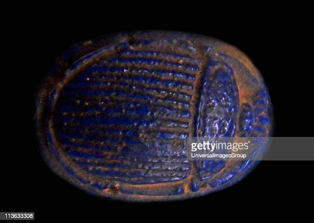 Egyptian amulet Egypt was the scarab, symbolically as sacred to the Egyptians