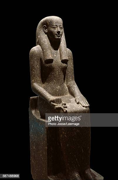 sculpture representing the divinity Iwnit Reign of Amenhotep III 14031365 BC Egyptian Art Museum Luxor Egypt