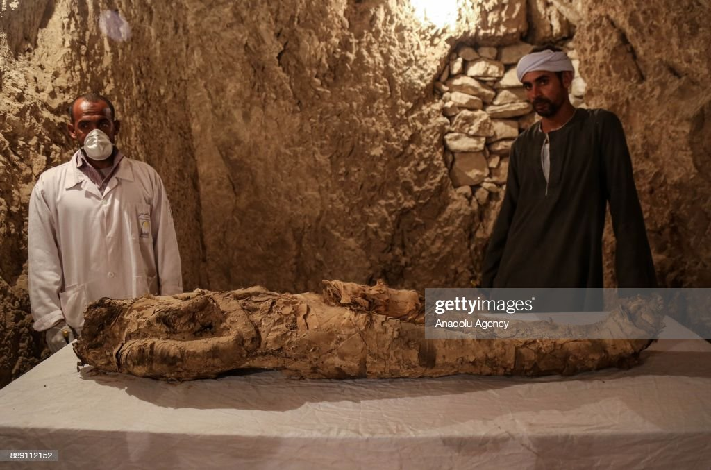 Egyptian archaeologists discover two tombs from 18th Dynasty pharaohs : News Photo