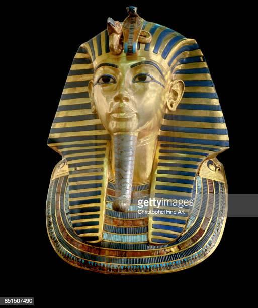 Egyptian Art Funeral Mask Of Tutankhamun Cairo Egyptian Museum