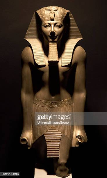 Egyptian Art Thutmose III Pharaoh of 18th Dynasty New Kingdom From the Temple of Amon Luxor Museum Egypt