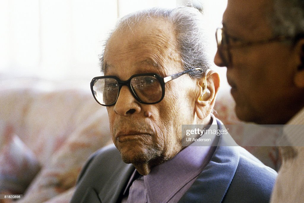 Ulf Andersen Portraits - Naguib Mahfouz : News Photo