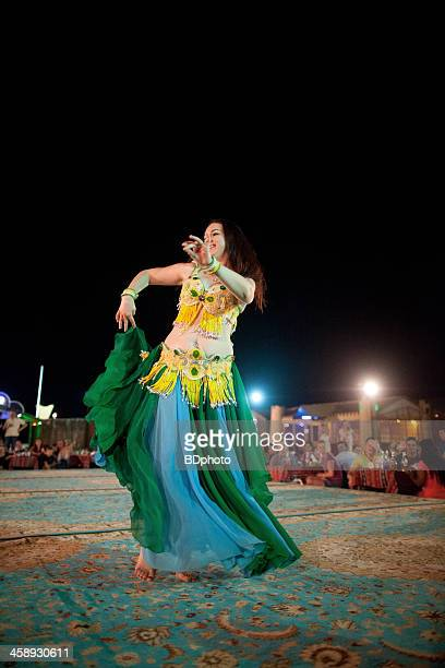 egyptian belly dancer, dubai, uae - belly dancing stock photos and pictures