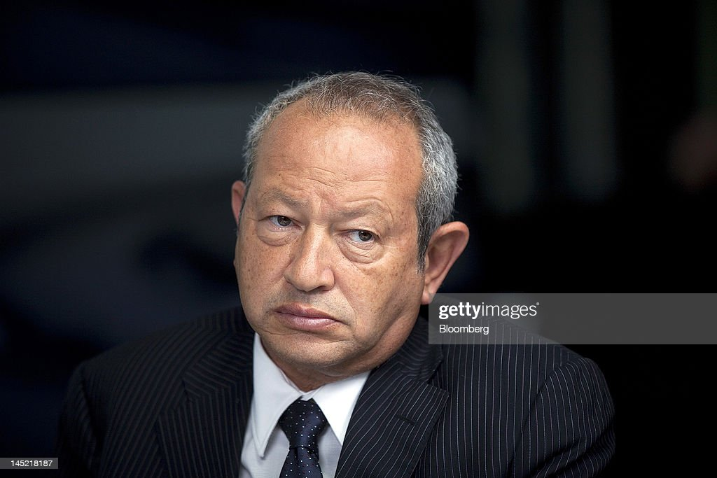 Egyptian Billionaire Naguib Sawiris : News Photo