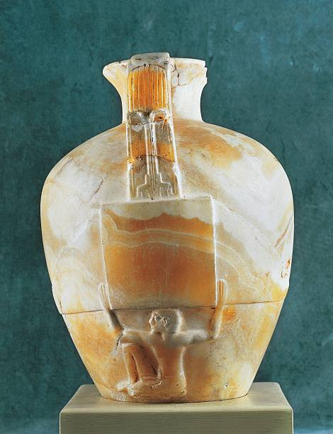 Heb Sed Alabaster Vase From Saqqara Pictures Getty Images