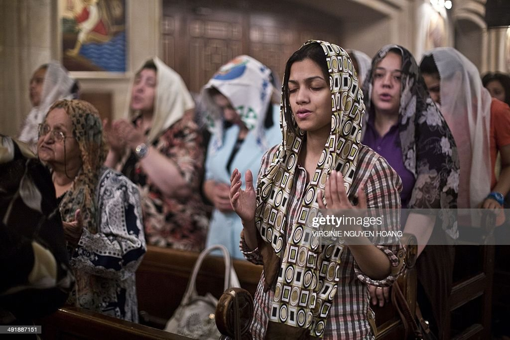 EGYPT-VOTE-RELIGION-COPTS : News Photo