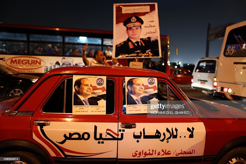 EGYPT-POLITCS-UNREST-JUSTICE-SISI : News Photo