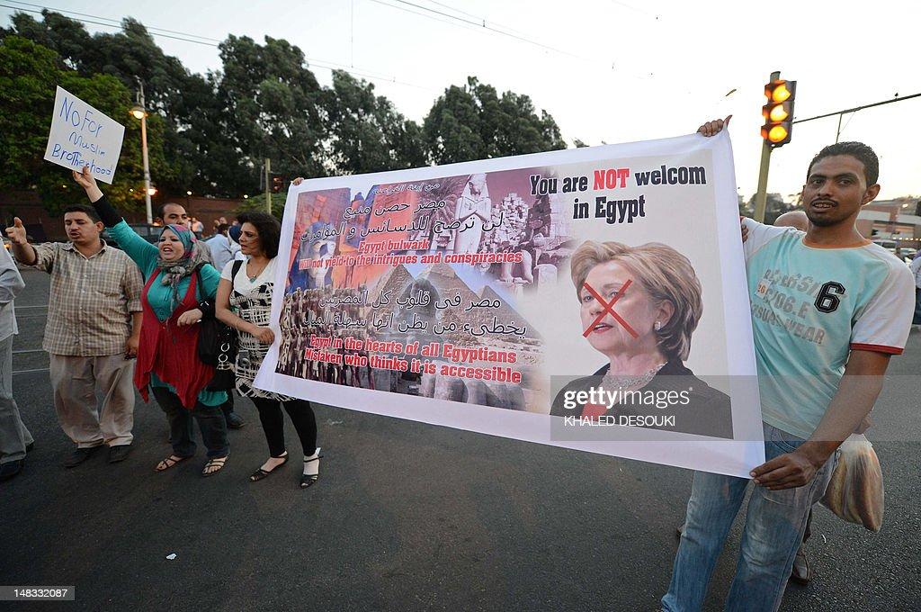 EGYPT-US-DIPLOMACY-DEMO : News Photo