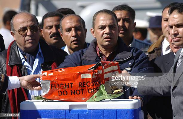 Egyptian deputy prosecutor for south Sinai Abdallah the head of the civilian aviation authority General Samir Abdel Maboud and Captain Shaker Qelada...